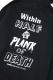 SABBAT13 S-BONE ZIP HOODIE (ブラック) BLACK