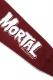 SABBAT13 MORTAL ZIP HOODIE (バーガンディ) BURGUNDY