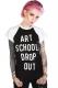 DISTURBIA CLOTHING Art School Ragran