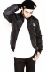 RUDIE'S DRAWING GALAXY BLOUSON BLACK/GALAXY