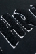 THRASHER TH8502LTE HOMETOWN EMB HOODIE BLACK/GRAY