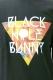 BLACK HOLE BUNNY クルーネック Gummy Delta BLK
