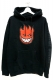 SPITFIRE BIG HEAD FILL PO BLACK/RED