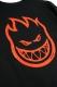 SPITFIRE BIGHEAD L/S T-SHIRT BLACK/RED