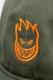 SPITFIRE LIL BIGHEAD OUTLINE SNAPBACK OLIVE