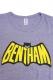 Bentham バットマンT ヘザーパープル