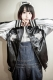 LiSA × GoneR Reversible Souvenir Jacket WhitexBlack - Black