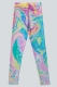 DROP DEAD CLOTHING Double Rainbow Leggings