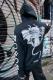 【予約商品】 DEADHEARTZ growth devil ZIP Hoodie BLACK
