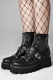 DISTURBIA CLOTHING  Buckle Boots