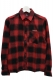 Subciety (サブサエティ) CHECK SHIRT L/S Ⅱ-Conductor- RED