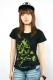 ABBEY DAWN LEOPARD BOWSKULL BASIC TEE