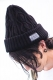 SABBAT13 CABLE KNIT CAP (ブラック) BLACK